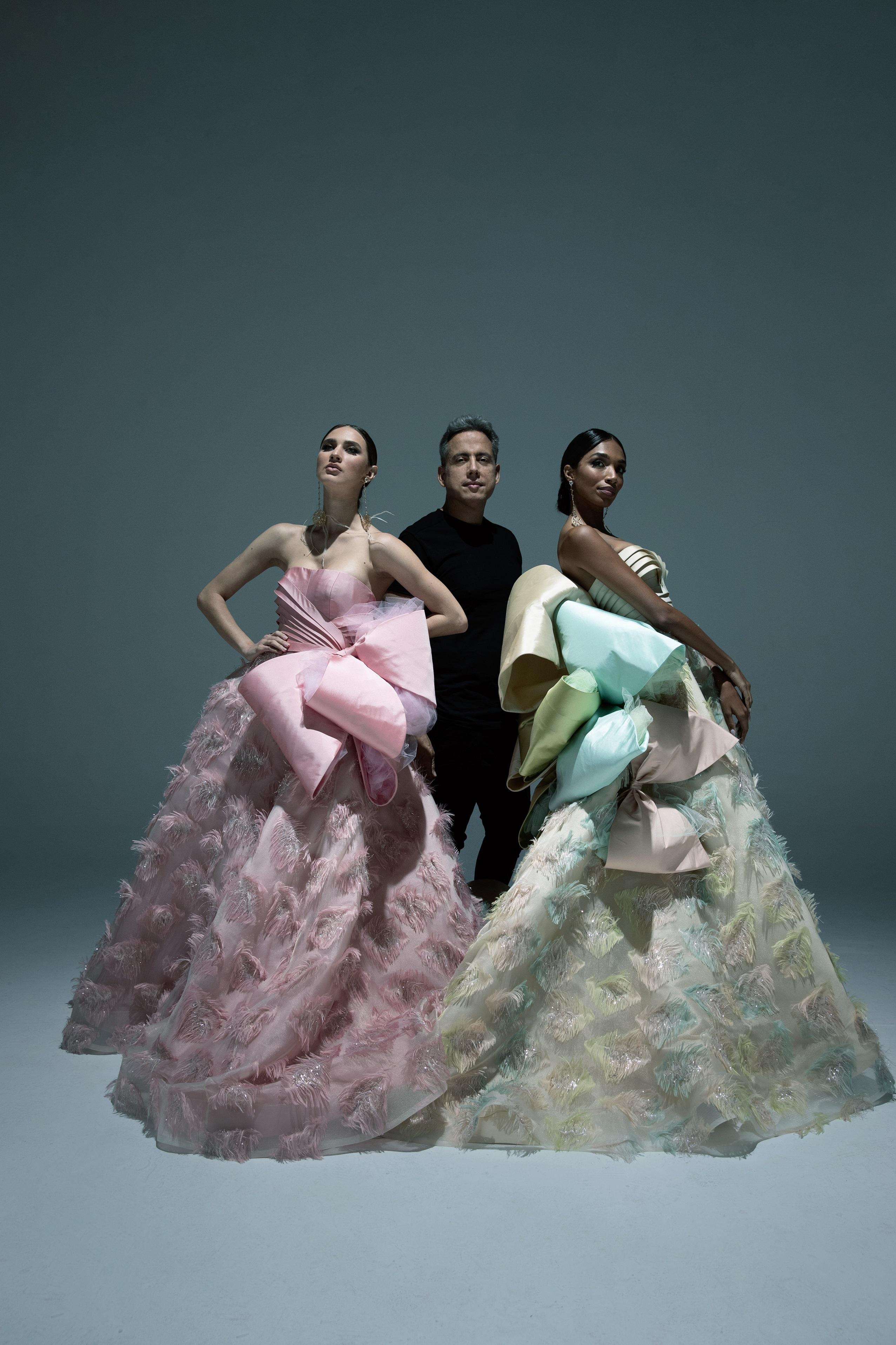 Harry Robles celebra, en medio de la pandemia, sus 35 años en la moda. (Foto: Giovan Cordero)
