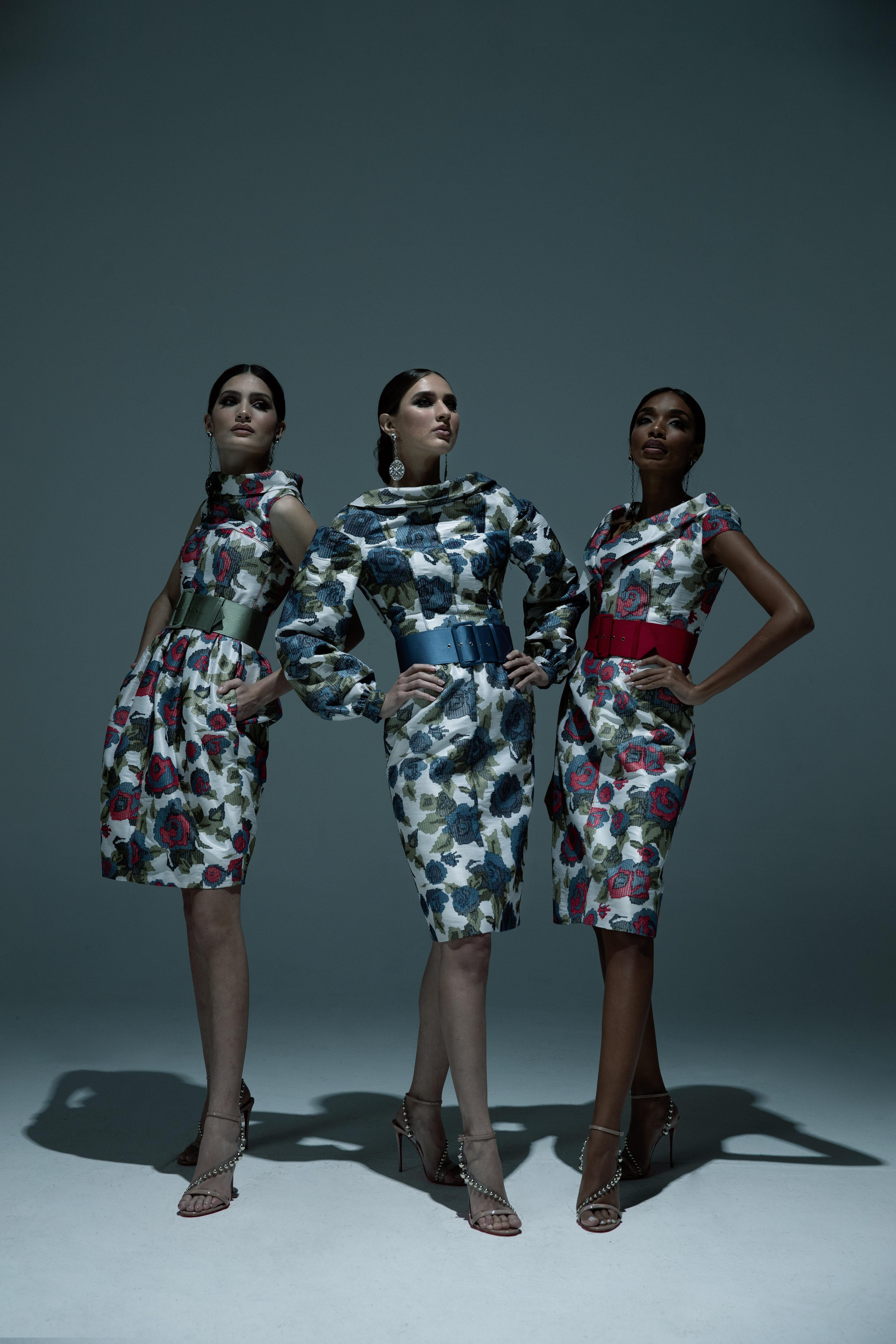 Las modelos Karla Santori, Ana Paola y Elijah Rodríguez, de Element Model & Talent Management protagonizaron esta sesión fotográfica. (Foto: Giovan Cordero)