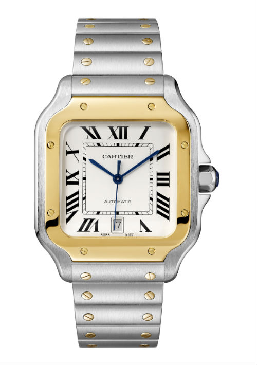 Reloj Santos de Cartier. (Foto: Suministrada)