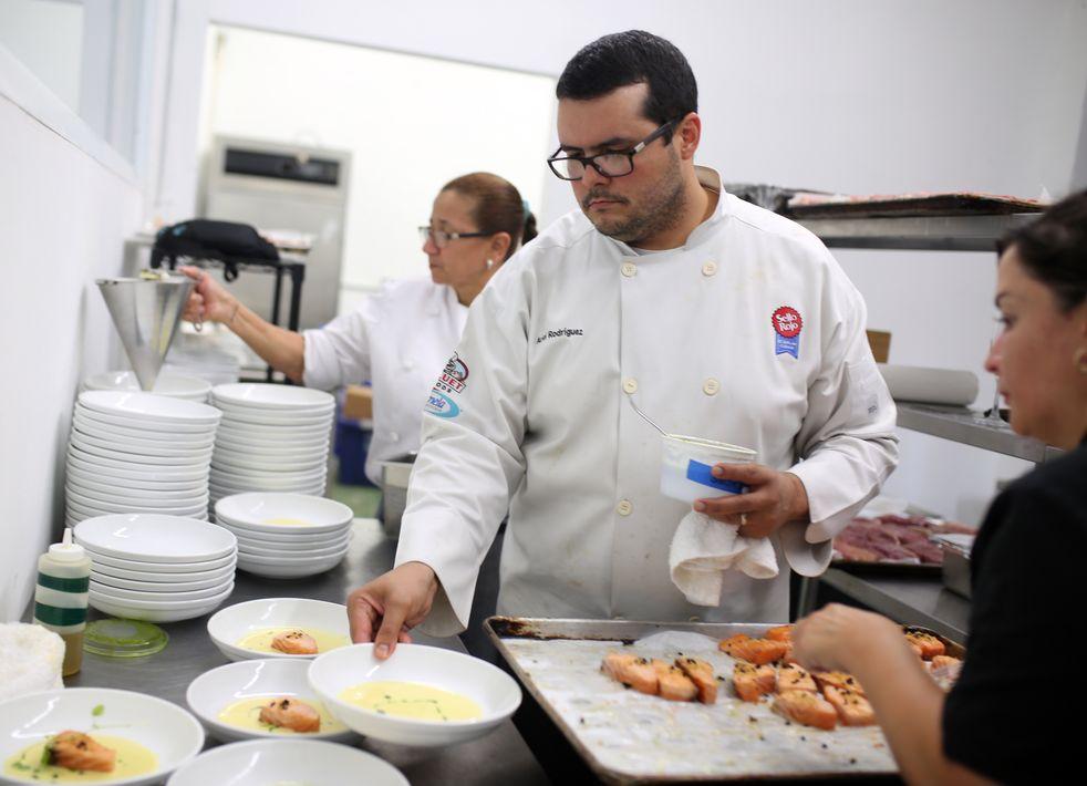 El chef Ariel Rodríguez. (Foto: José R. Pérez Centeno)