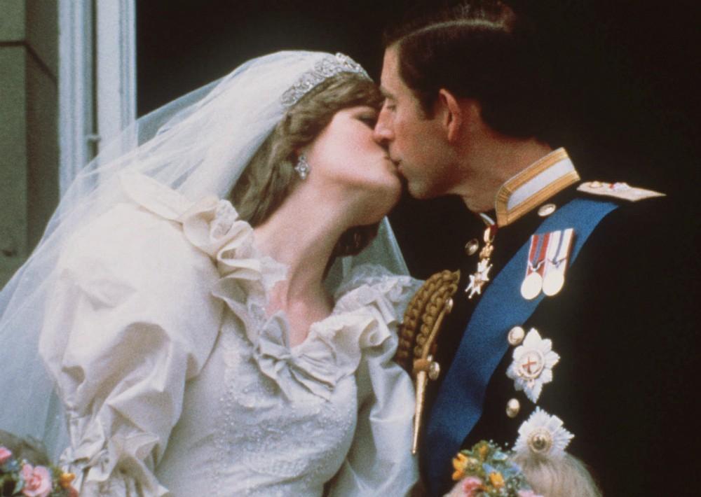 La princesa Diana y el príncipe Charles durante su boda (1981). (Foto: AP)