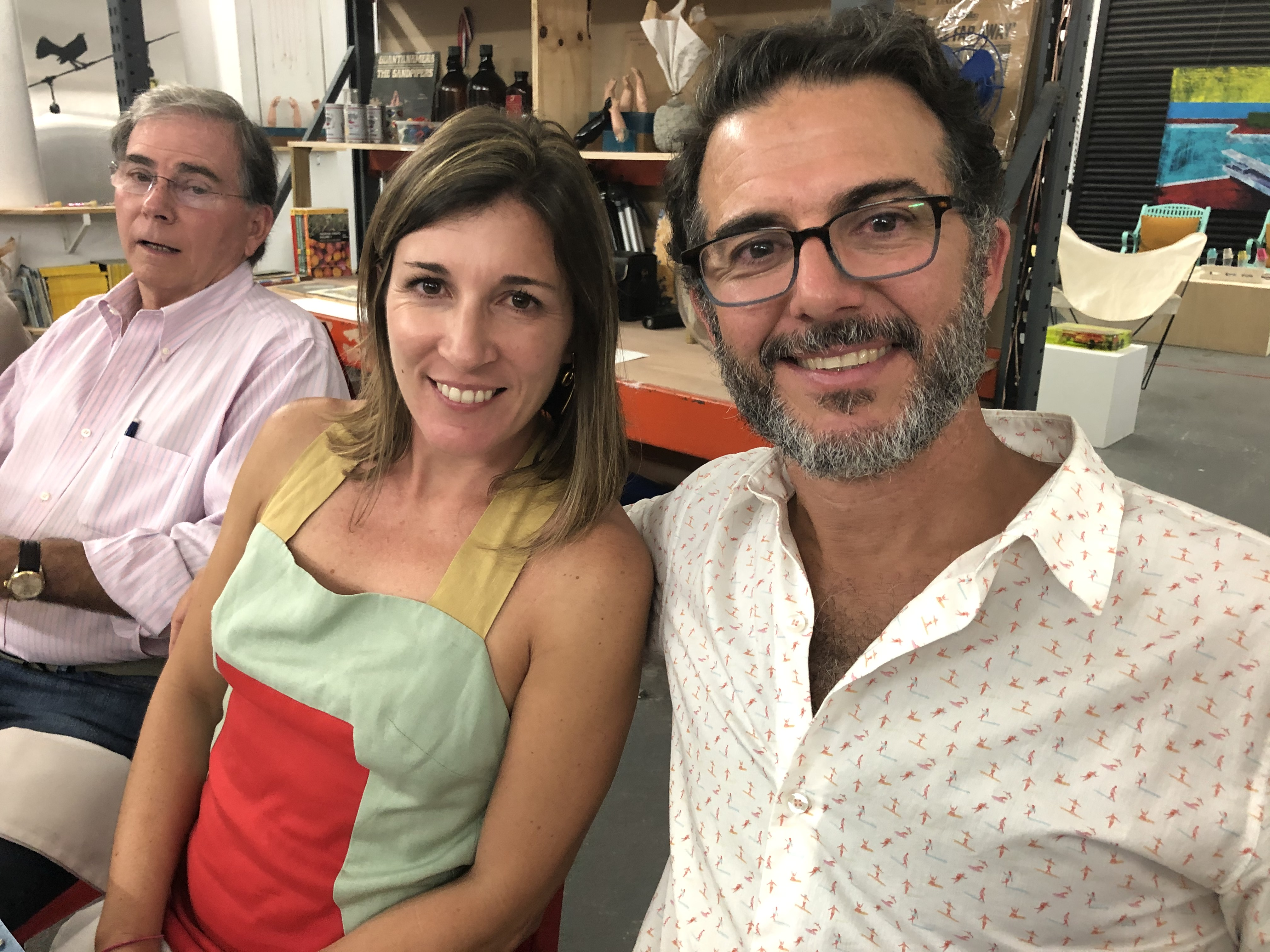 Silvia Bonachea y Eduardo Cabrer. Foto suministrada