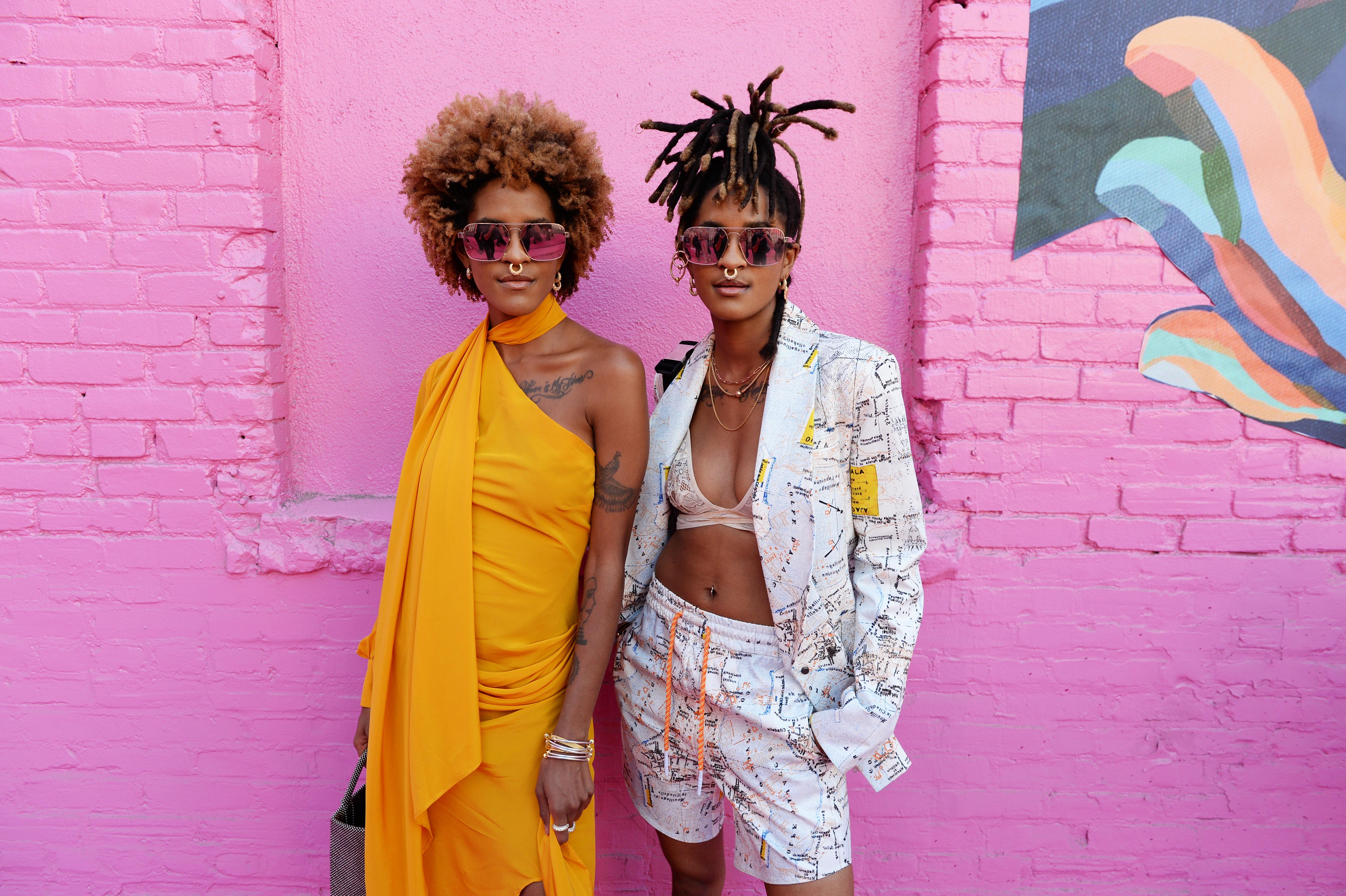 Coco y Breezy. Foto suministrada