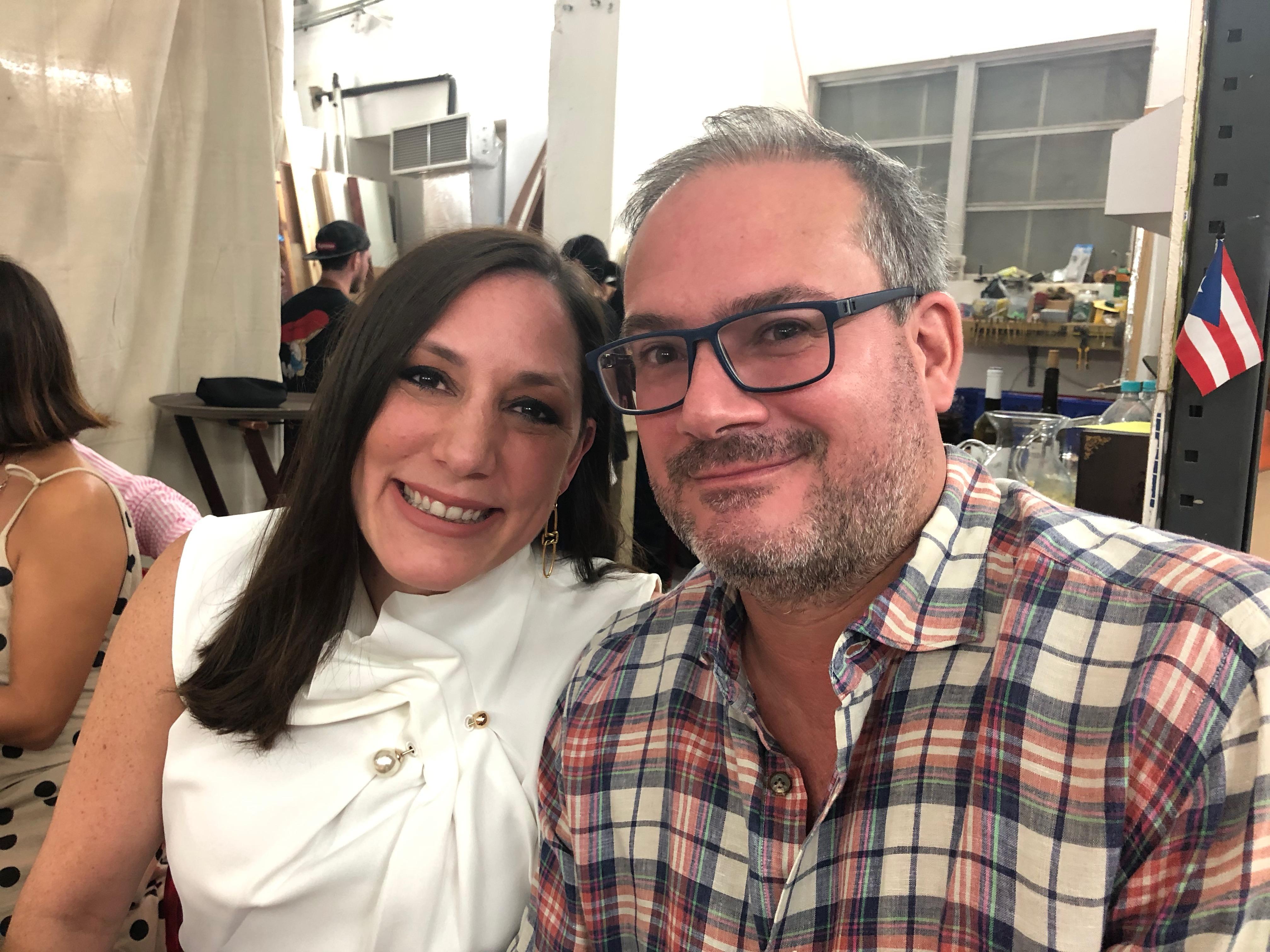 Eduardo Medina y Sara Alvarez. Foto suministrada