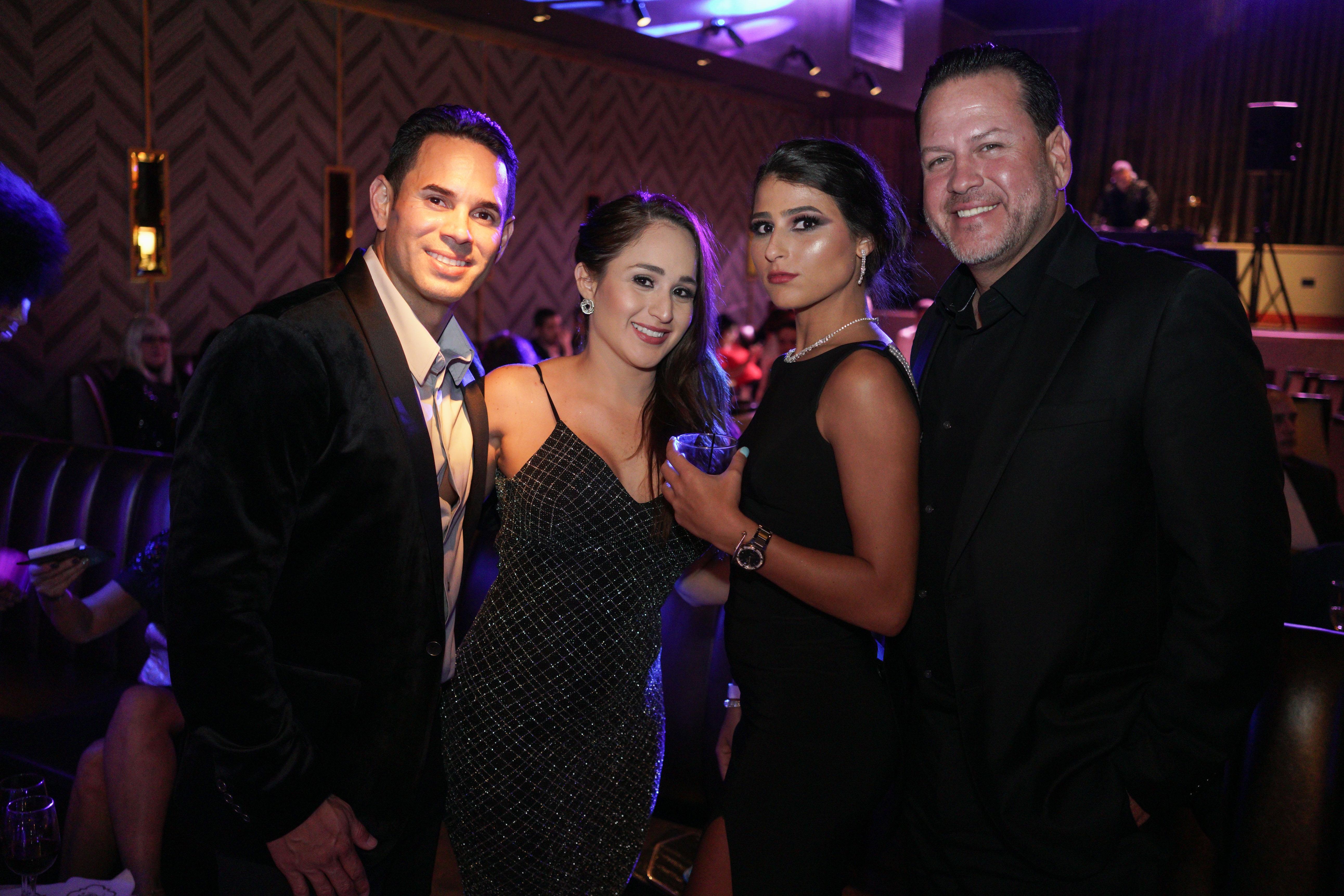 Julio Delgado, Elena Delgado, Karina Marrero y Javier Marrero. (Suministrada)