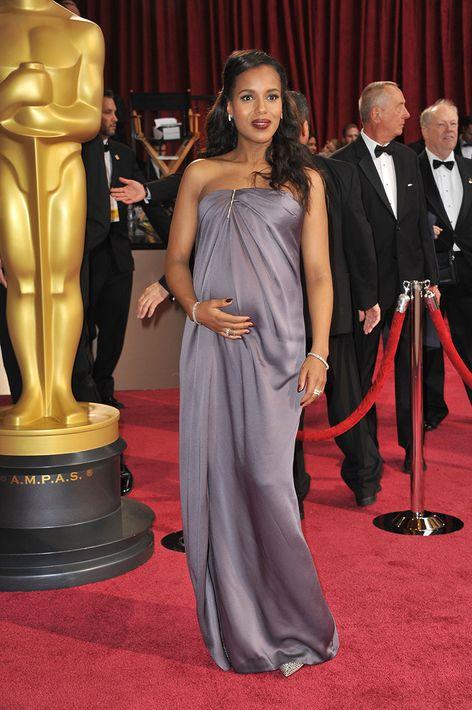 2014 -  Vestido lavanda de Jason Wu en los premios Oscar.