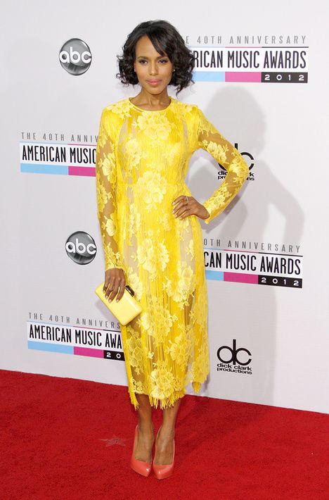 2012 - Vestido de Stella McCartney en los Amerian Music Awards.