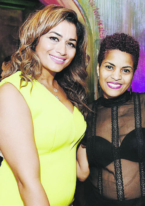 Maha Abuage y Sandra Lafontant.
