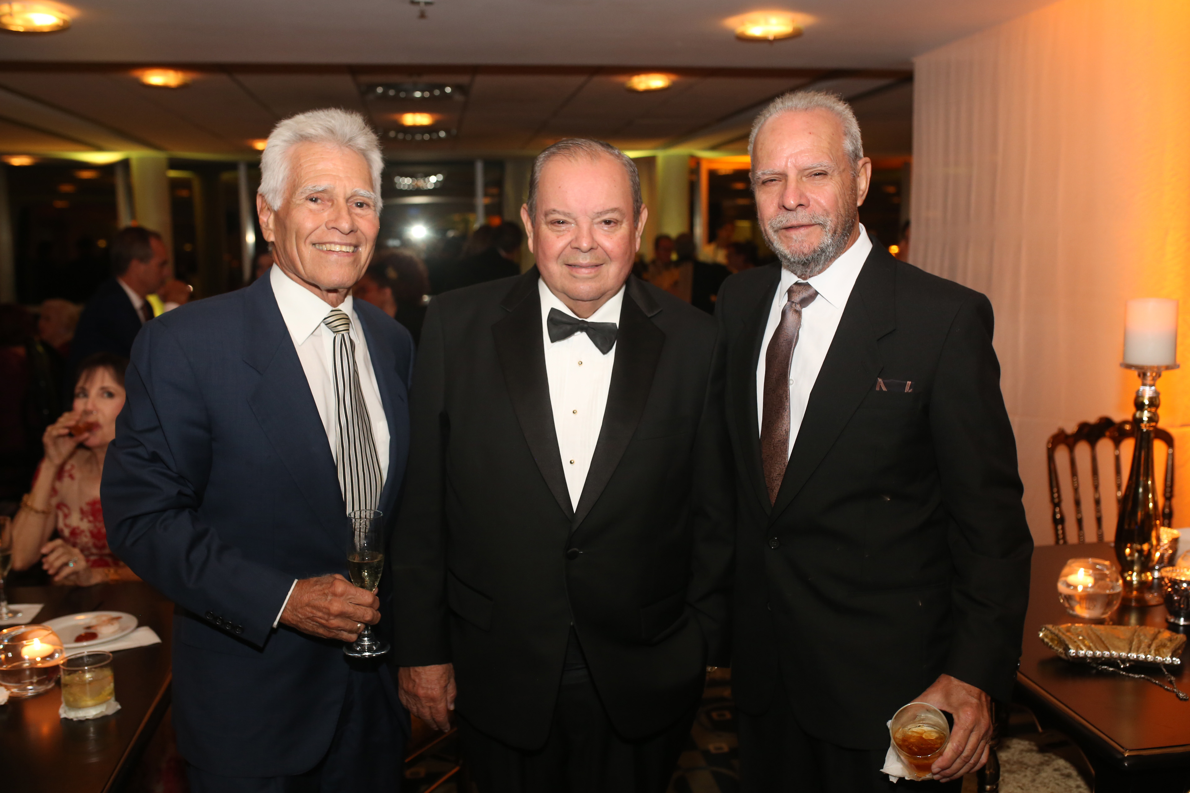 José Amadeo, Joe Colón y Leroy Camero. Foto: José R. Pérez Centeno.