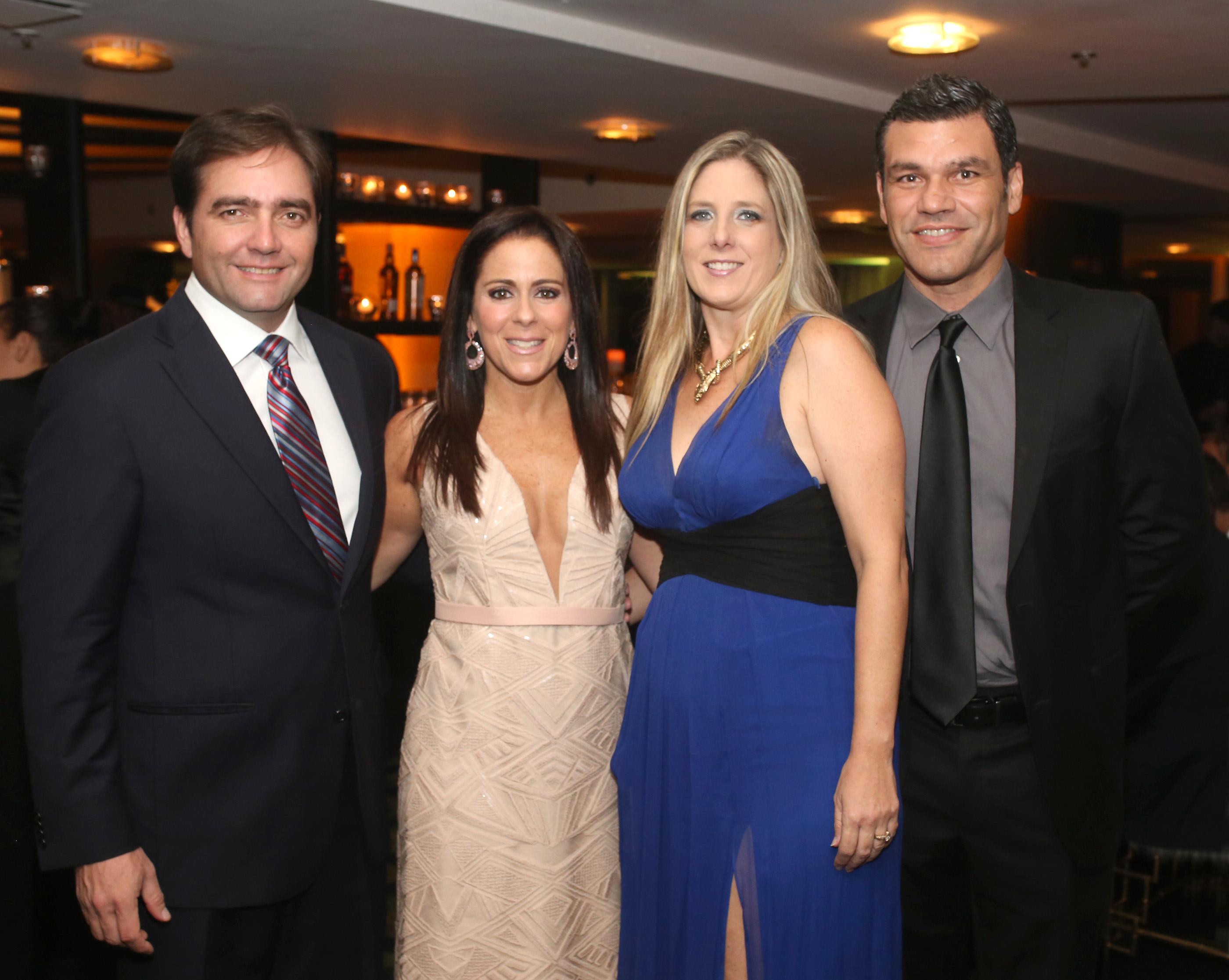 Tito Lebrón, Glori Suau, Vivian Herrero y Carlos Vázquez. Foto: José R. Pérez Centeno.