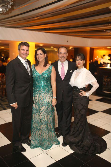 Franco Ferraiouli, Mariangie Tirado, José Rafael Milán y Rebeca Nieves. Foto: José R. Pérez Centeno.