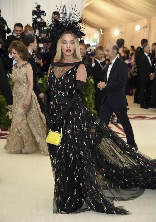 La cantante Rita Ora (AP)