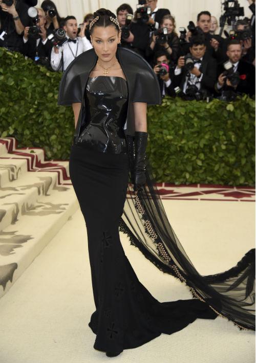 La  modelo Bella Hadid (AP)