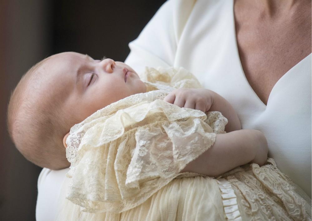 """Durante su llegada, Kate describió al niño como """"muy relajado y tranquilo"""". (Foto: AP)"""