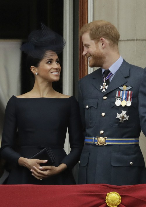 Megan y el príncipe Harry, duques de Sussex. (Foto: AP)
