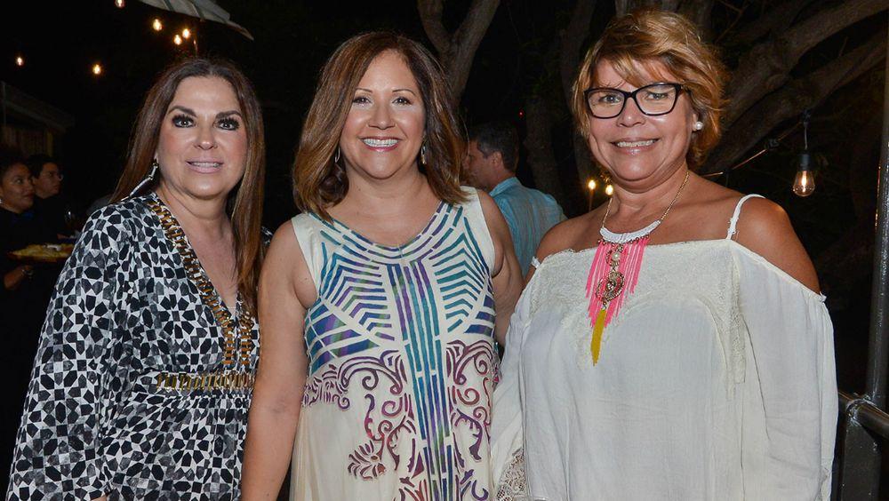 Marisel Dolagaray, Lourdes Figaredo y Alba Rivera. (Foto: Enid M. Salgado Mercado)