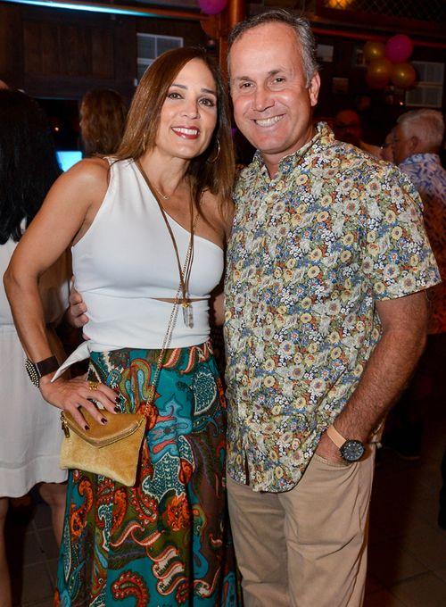 France Larin y Gary Deresh. (Foto: Enid M. Salgado Mercado)