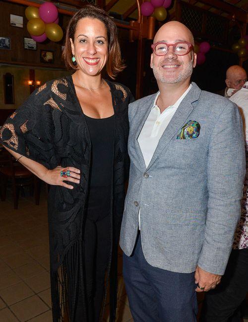 Fabiola Ansótegui y Juan Olmeda. (Foto: Enid M. Salgado Mercado)