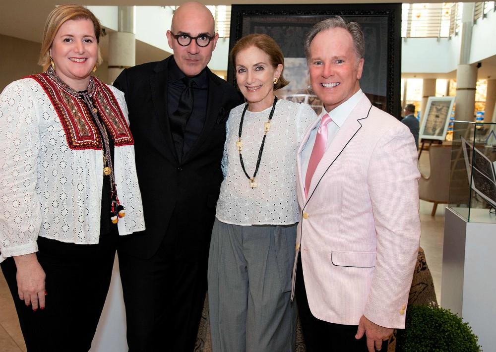 Grace González, Adrián Villeta, Marybeth González y Michel Bell.