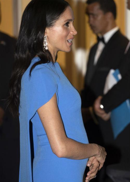 La semana pasada, durante el primer día de su viaje a Australia, el Palacio de Kensington anunció el embarazo. (AP)