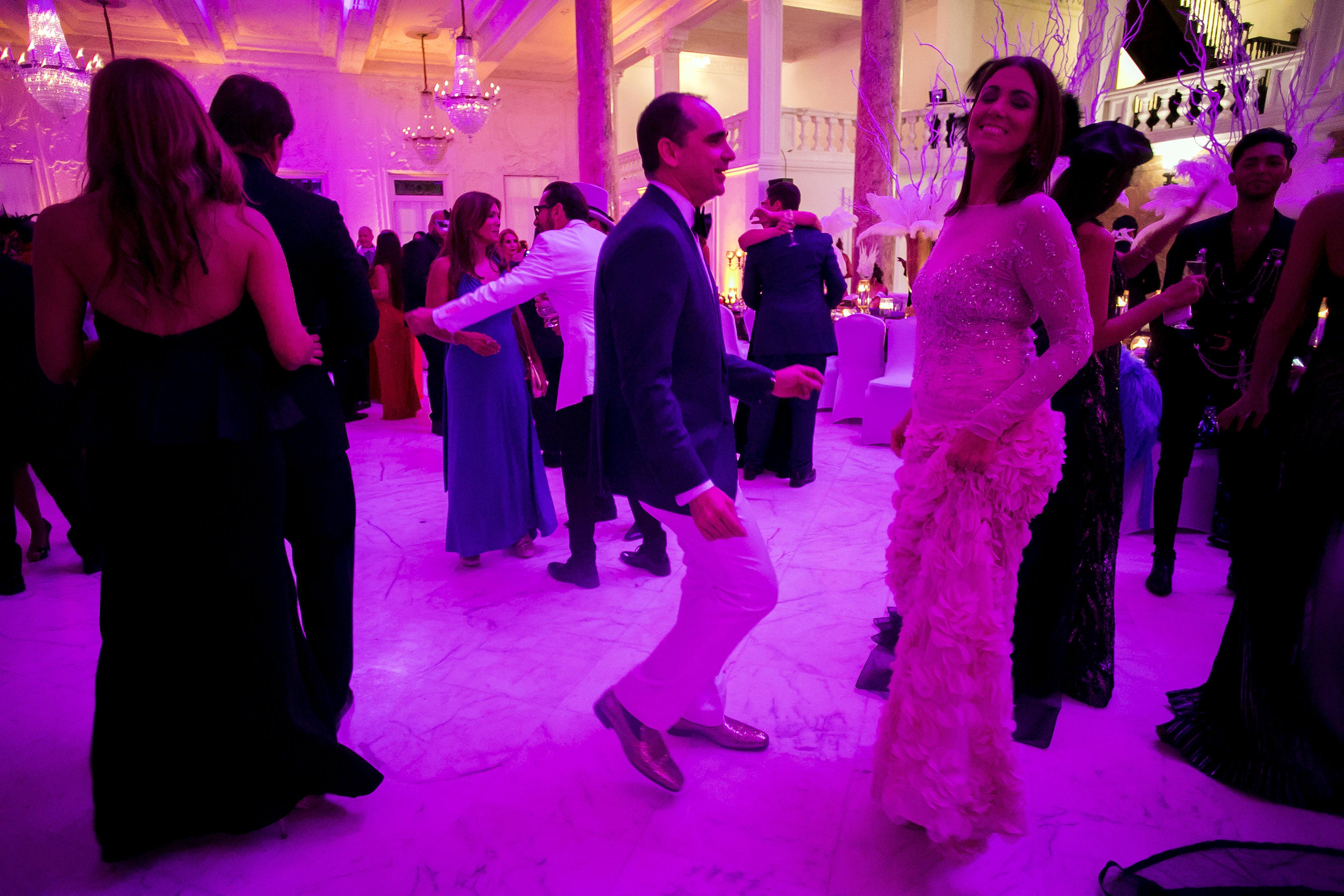 Leonardo Cordero y Ana Mellado en la pista de baile. Foto Xavier García.