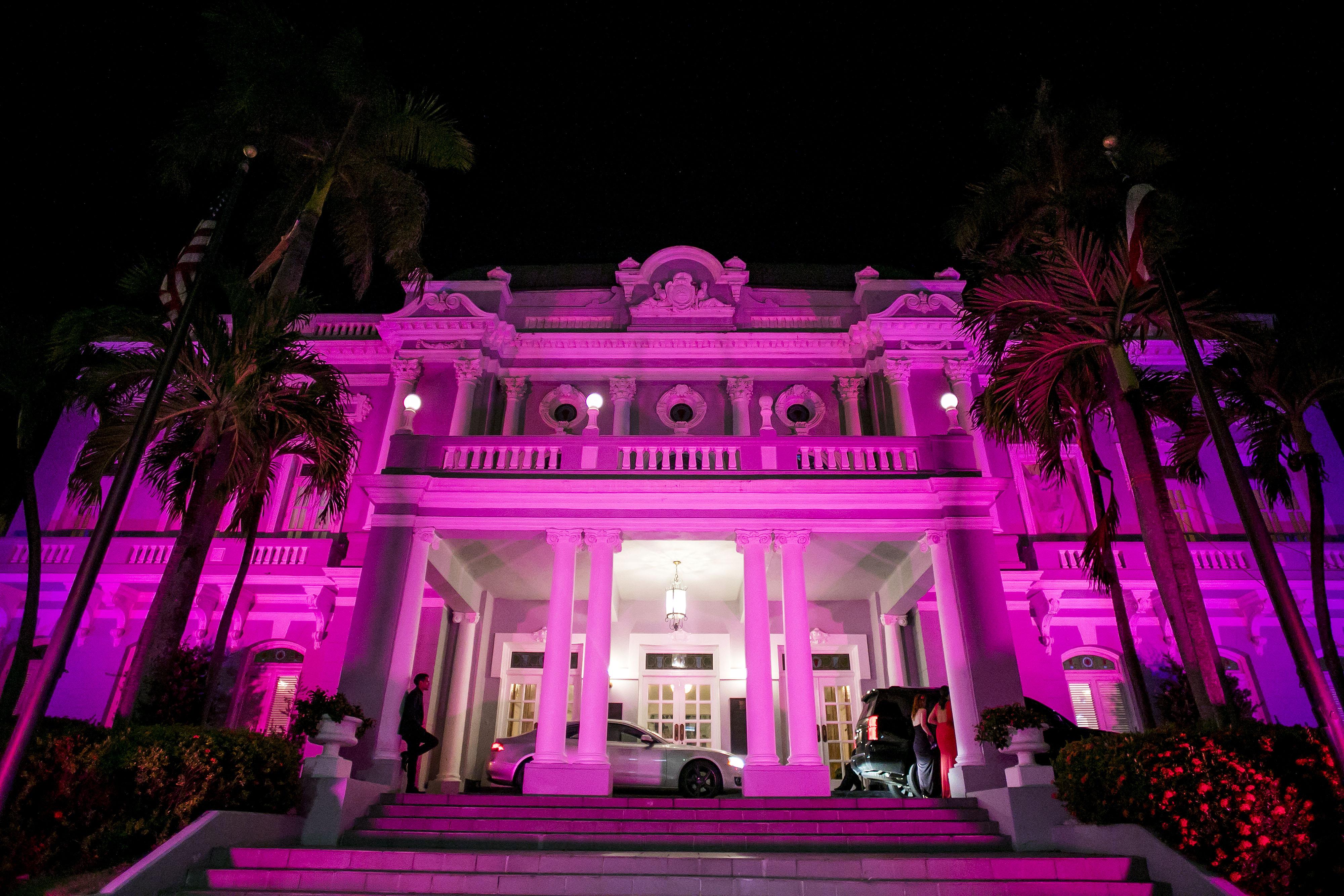 La Gran Noche de la Moda se llevó a cabo en el Antiguo Casino de Puerto Rico, sede de los desfiles de San Juan Moda. Foto Xavier García