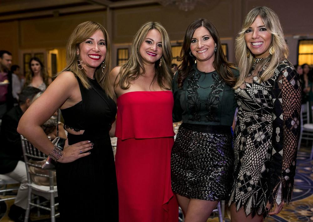 Jini Reyes, Lilli Freire, Pamela Casillas y Beatriz Pumarejo. (Foto: Xavier García)