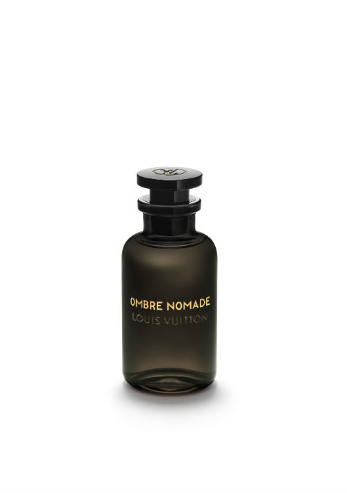 Fragancia de oud, geranio y azafrán, Ombre Nomade de Louis Vuitton. (Foto: Suministrada)