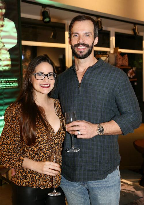Cristina Cruz y Armando Álvarez.