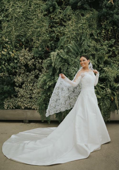 Arreglo personal de la novia: Ingrid Rivera. (Suministrada)