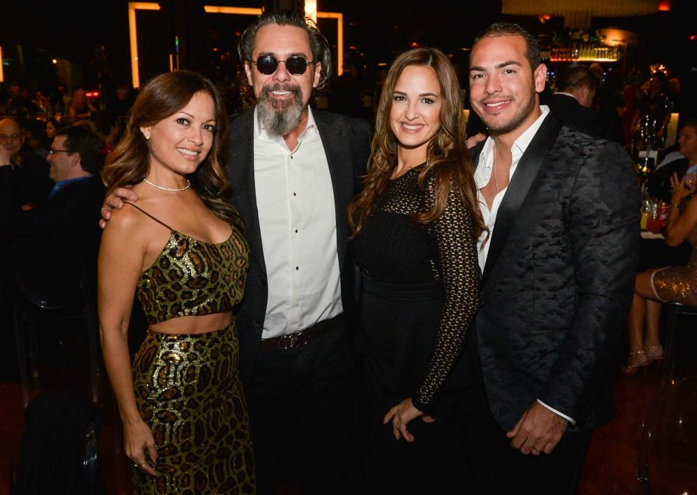 Yadira Cordero, Tony Arias, Christine Jiménez y Pedro Astacio. (Suministrada)
