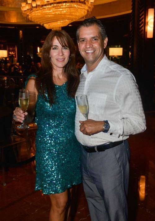 Samuel González y Liza Sanmiguel. (Suministrada)
