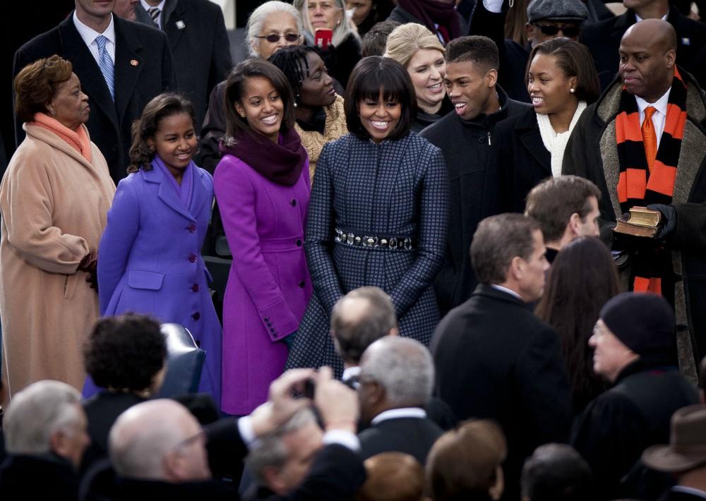 En enero de 2013, en la ceremonia inaugural del segundo período presidencial de Barack Obama.