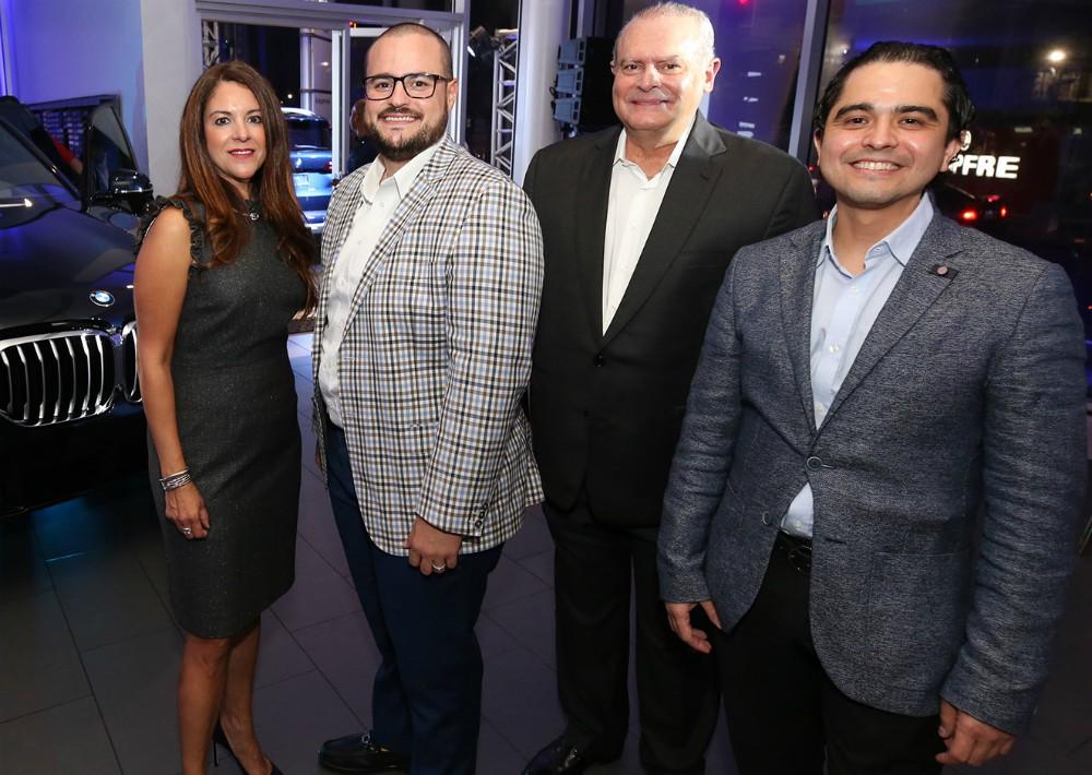 Marimer Martínez, Enrique De la Cruz, Eduardo Pellerano, y Miguel Cruz. (José R. Pérez Centeno)