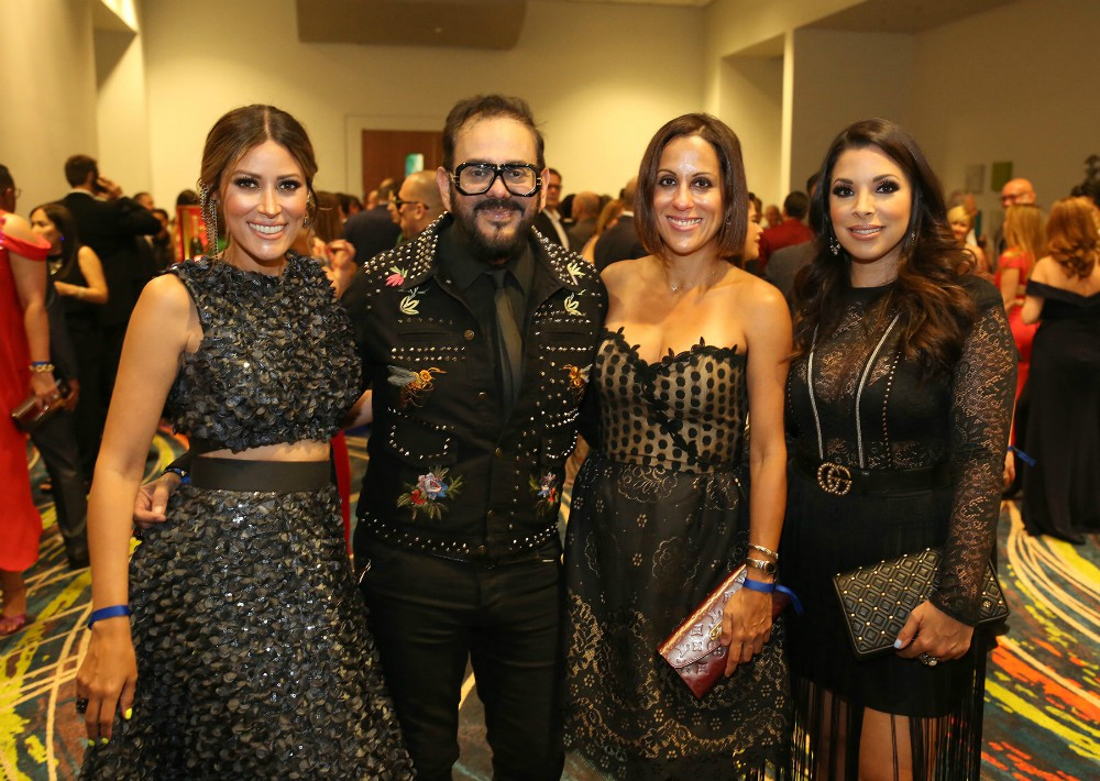 Rosalina Torres, Eddie Guerrero, Fabiola Ansotegui y Viviana Mercado. (José Rafael Pérez Centeno)
