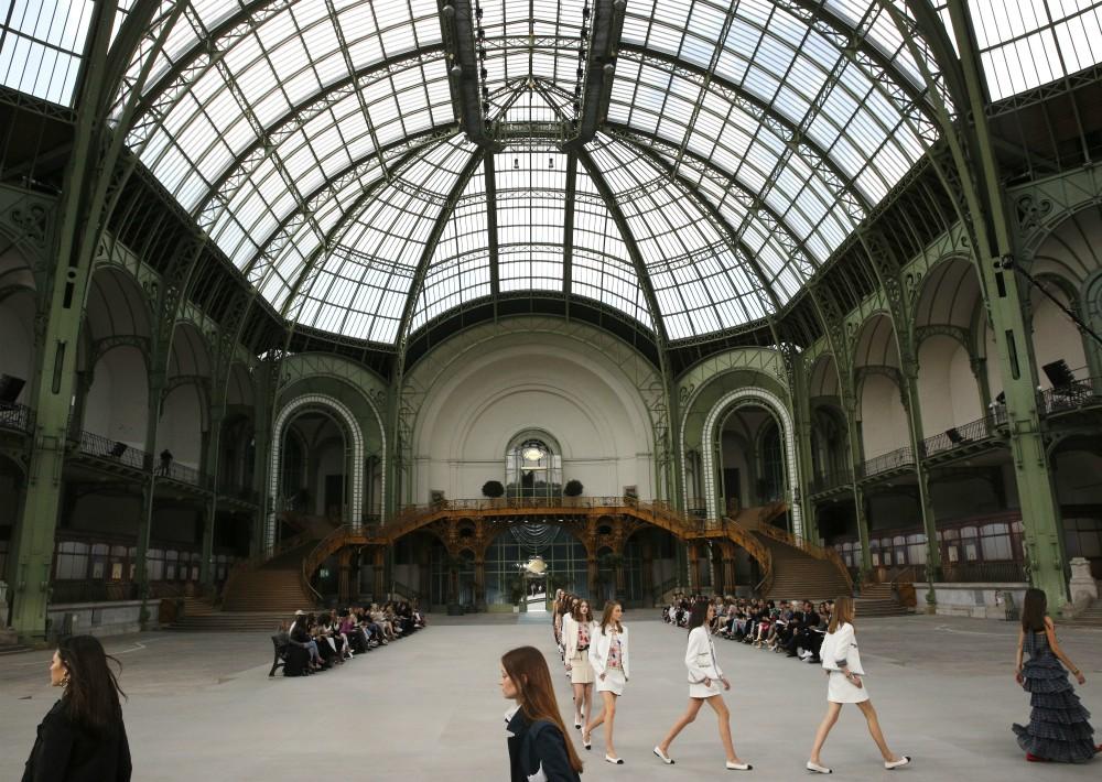 El lugar fue una vez más el Grand Palais de París. (AP)