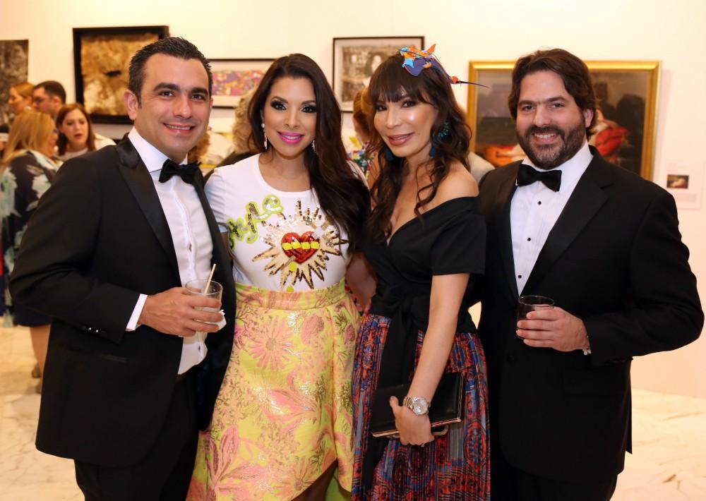 Francisco Feliu, Viviana Mercado, Mae Ling Colón y Antonio García. (José Rafael Pérez Centeno)