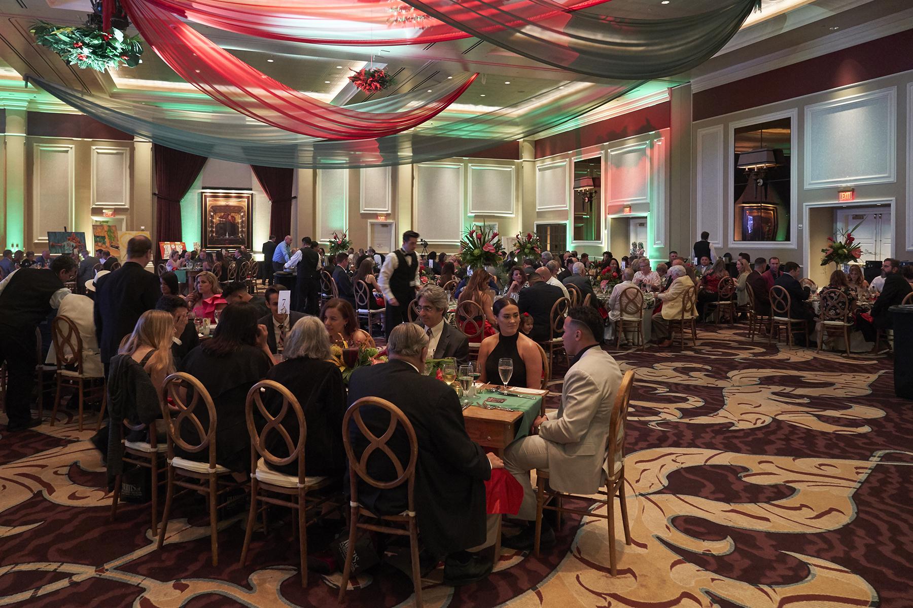 La gala se celebró en el River City Hotel a beneficio de los niños con desventajas en St. Louis y Puerto Rico. (Suministrada)