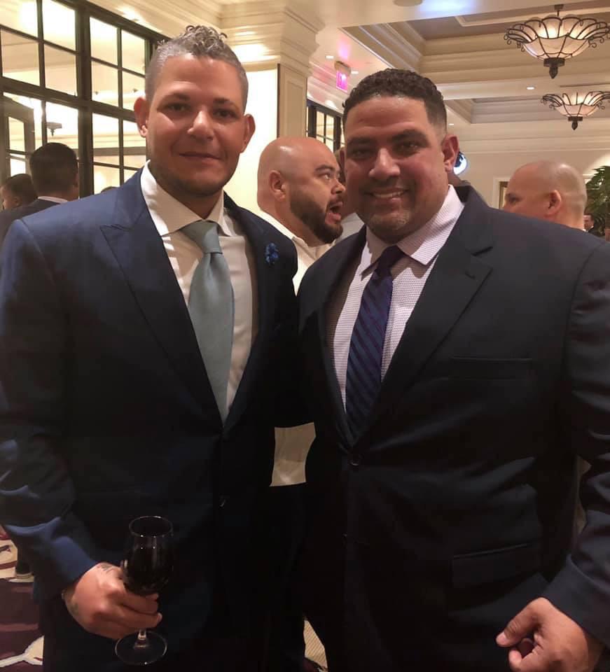 Yadier Molina y su hermano Bengie Molina. (Suministrada)
