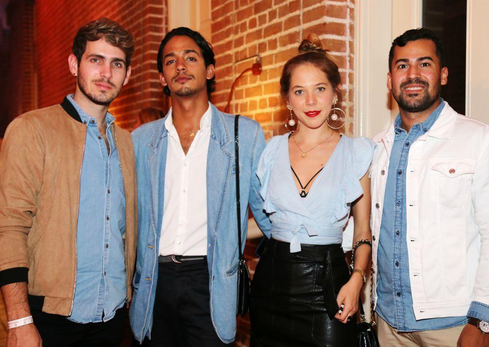 Carlos Alvarado, Josean Velez, Daniela Pulido y Jesus Emmanuel. (Nichole Saldarriaga)