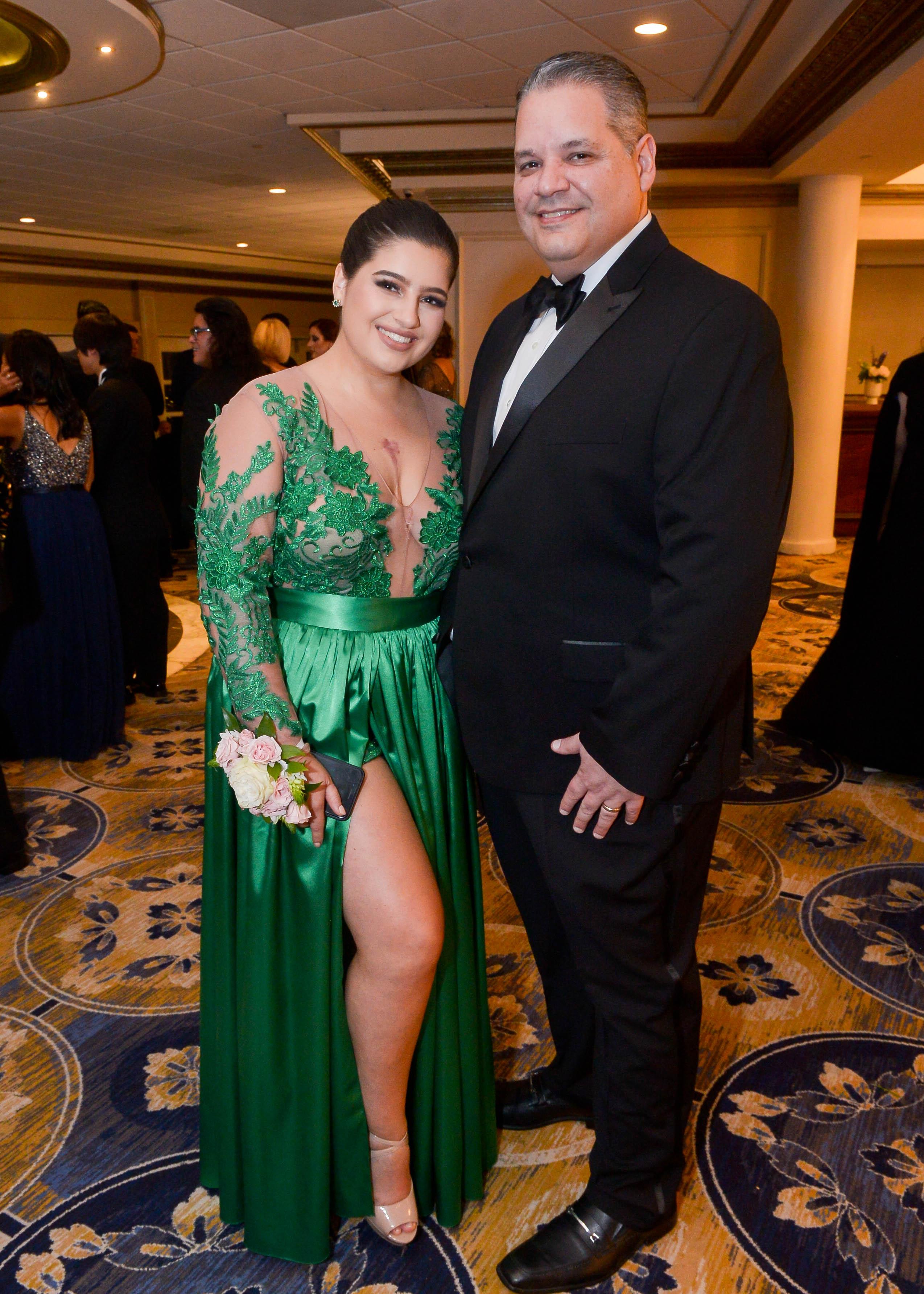 Lola y Victor Montilla  en el Senior Prom de Robinson School en El San Juan Hotel. Foto Enid M. Salgado Mercado.