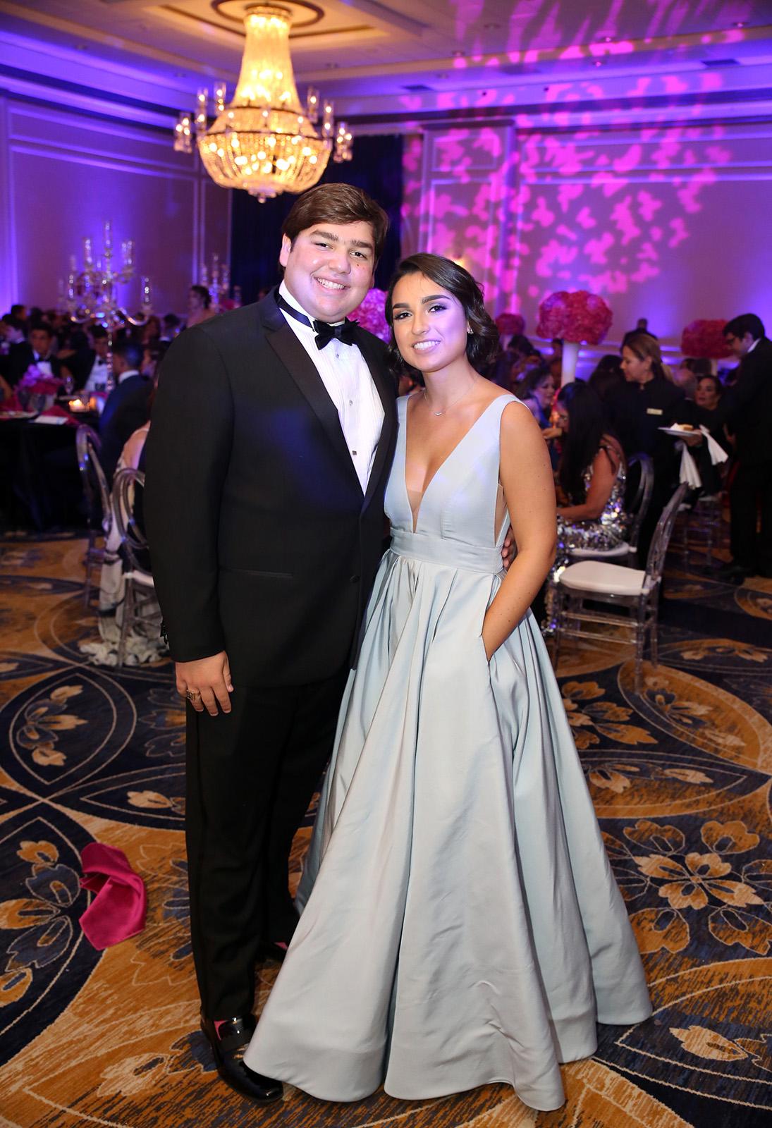 Diego López y Camila Aguayo. (José R. Pérez Centeno)
