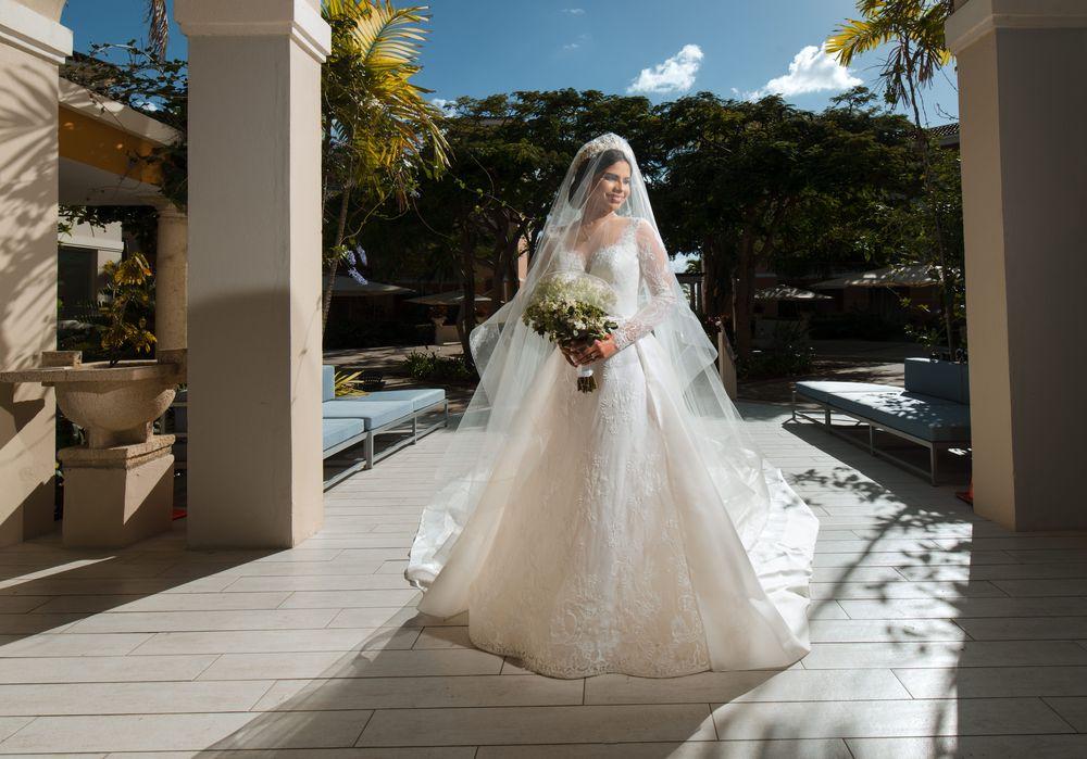 La novia, Nathalia Carolina Cancel Villamil. Foto William de la Cruz Photography