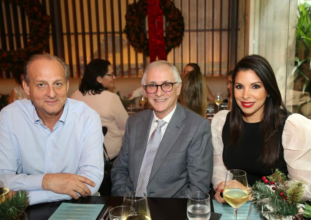 Arthur Jotic, Carlos Pepe Rodríguez y Viviana Mercado. (Nichole Saldarriaga)