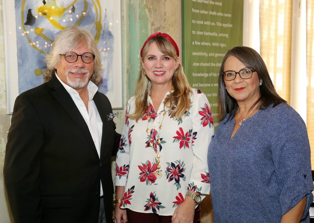 Sajo Ruiz, Michelle Marangés e Iraida Velez. (Nichole Saldarriaga)