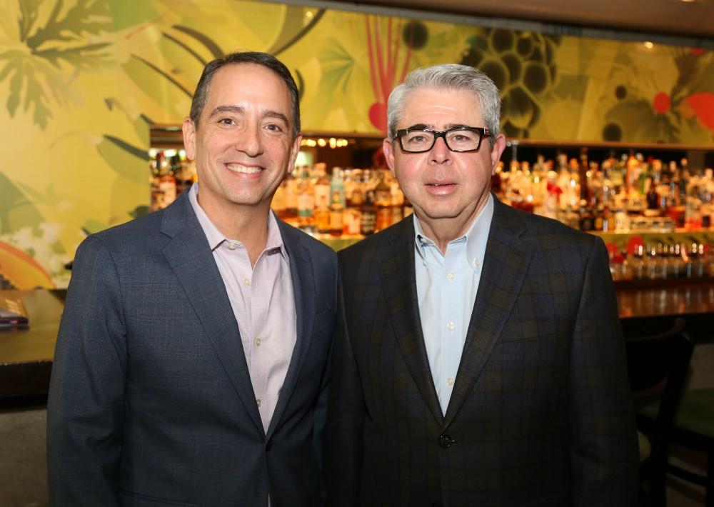 Carlos Moreno y Aniceto Solares. (Nichole Saldarriaga)