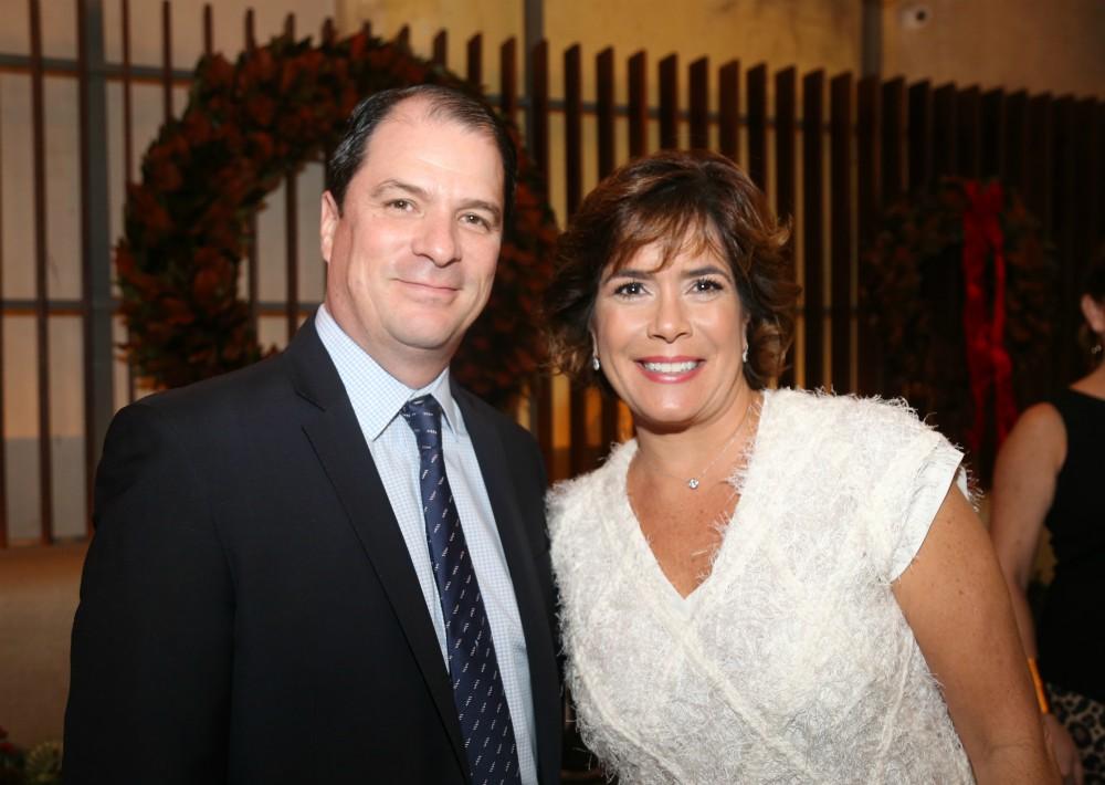 Enrique Ortiz y Maria Eugenia Ferré. (Nichole Saldarriaga)