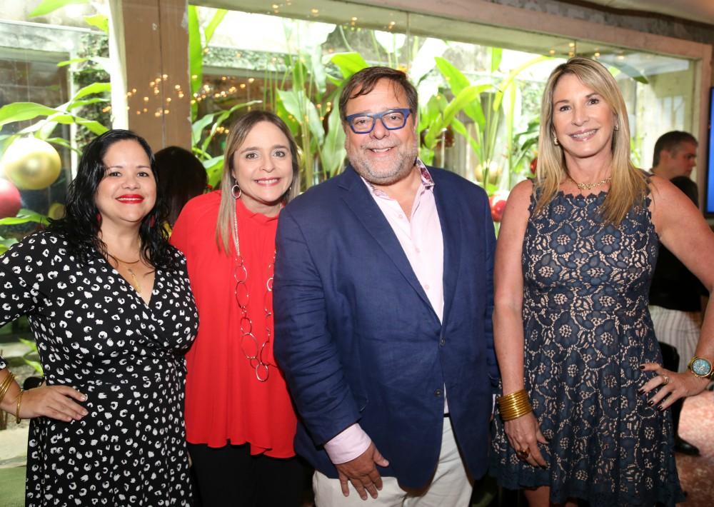 Anelsie Ramos, Marie Rose Acevedo, Carlos Thompson, Tere Guerrero. (Nichole Saldarriaga)