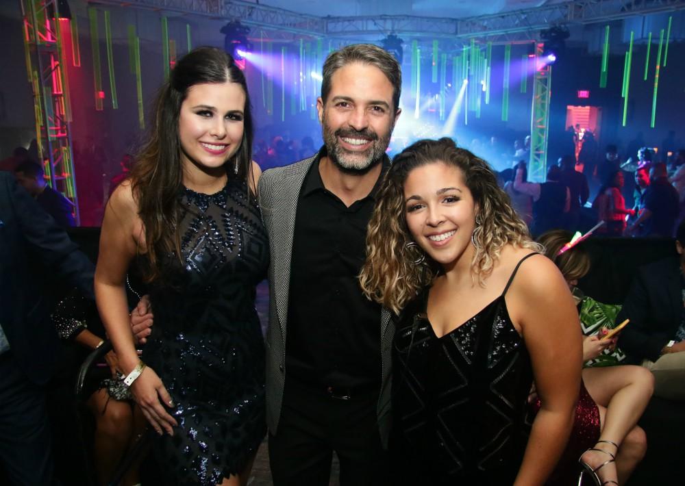 Sofia Bozo, Carlos Cobián y Camila Sosa. (Suministrada)