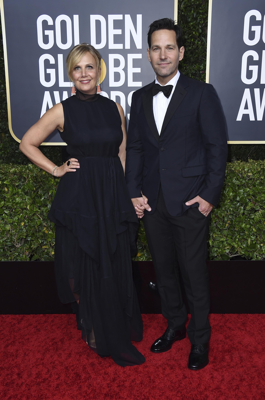 Julie Yaeger y Paul Rudda. (AP)
